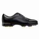 2015 ICON Black Men's Spiked Golf Shoes