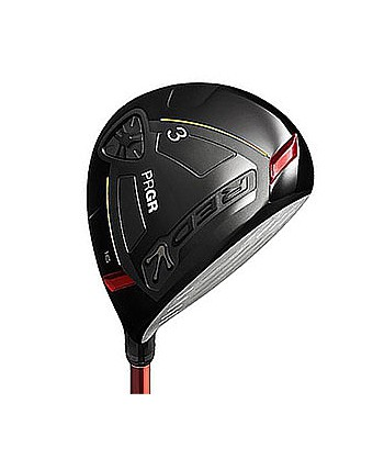 Red Fairway Wood