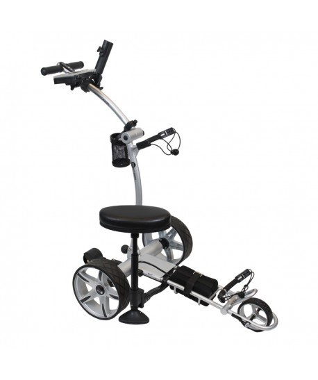 RL170 Lithium Powered Remote Control Golf Trolley with Integrated Seat