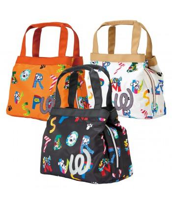 Logo Pattern Pouch Bag...