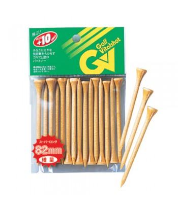 Wood Tee Super Long 82mm
