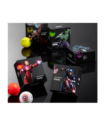 Marvel 4 Ball Pack
