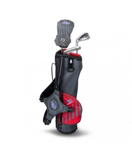 UL39-s LH 3 Club Carry Set, Grey/Red Bag