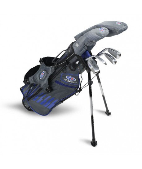 UL45-s 6 Club DV3 Stand Set, Grey/Blue Bag