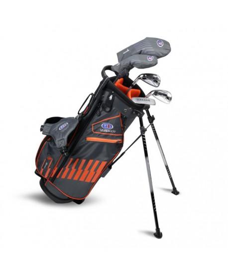 UL51-s LH 5 Club Stand Set, Grey/Orange Bag