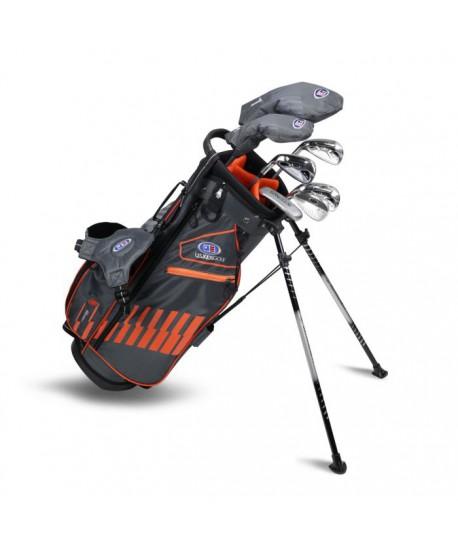 UL51-s LH 7 Club DV3 Stand Set, Grey/Orange Bag