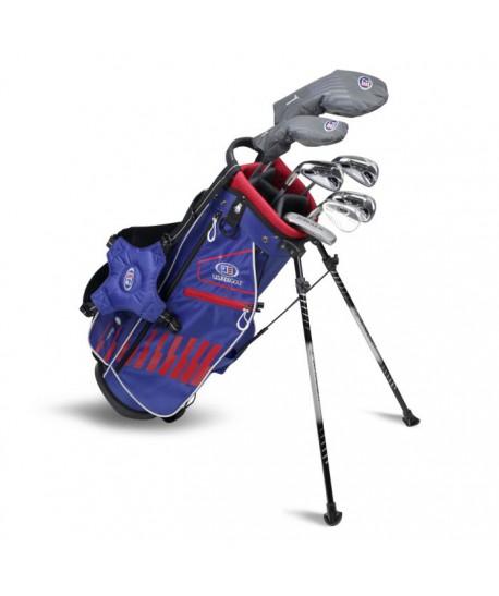 UL51-s LH 7 Club DV3 Stand Set, Blue/Red/White Bag