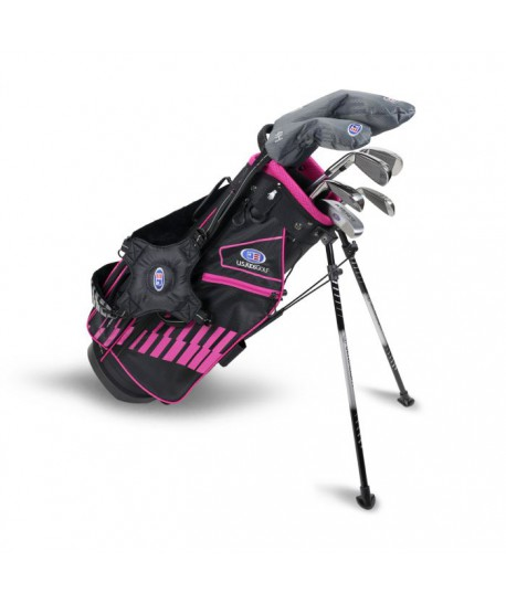 UL51-s 7 Club DV3 Stand Set, Black/Pink Bag