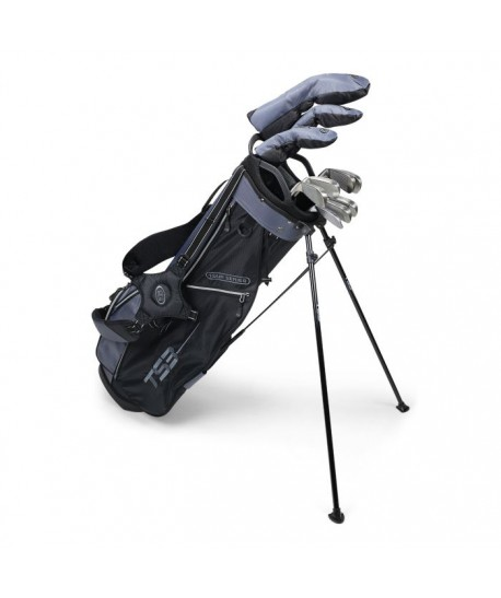 TS3-66 LH 7 Club Set, Combo Shafts, Charcoal/Black Bag