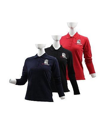Women's LS Polo 701W7030