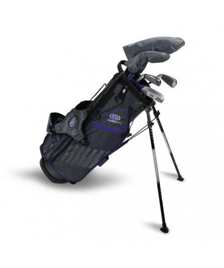 UL54-s 5 Club Stand Set, Grey/Purple Bag