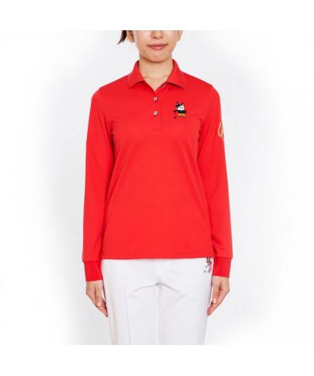 Women's LS Polo 701C6004