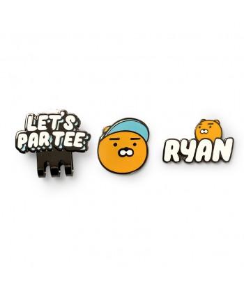 Ryan Let's Par Tee Ball Marker