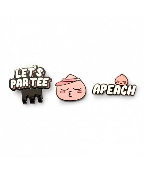 Apeach Let's Par Tee Ball Marker
